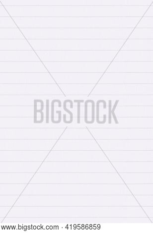 Lined Paper Background. Full Frame Texture Of Real Lined Paper, Seamless Tileable (repeat) Pattern