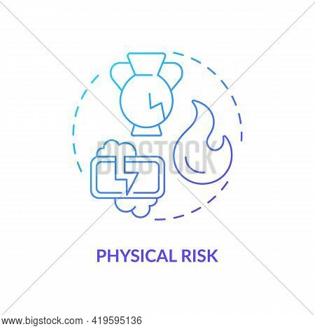 Physical Risk Concept Icon. Purchase Risk Factor Idea Thin Line Illustration. Recommended Ages, Rest