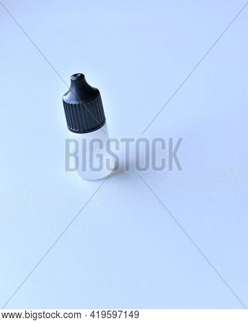 Plastic Bottle With Oil For Hand Tool Lubrication