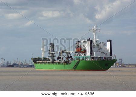 Green Cargo Ship