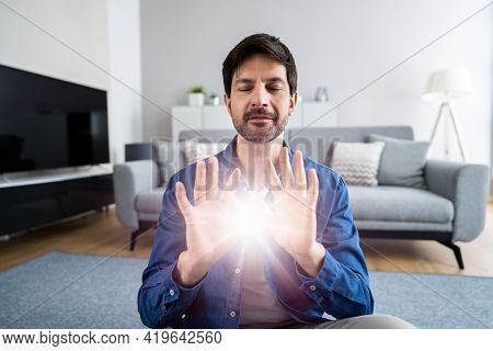 Psychic Hand Healing Energy Light And Reiki Therapy