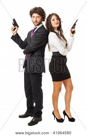 James Bond And His Girlfriend