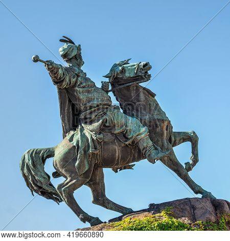 Monument To Bohdan Khmelnytsky In Kyiv, Ukraine