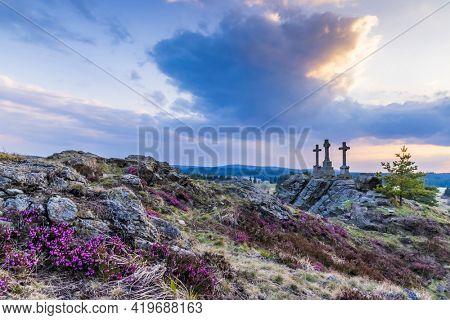 Krizky National Natural Monument, Western Bohemia, Czech Republic