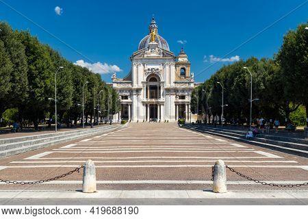 Basilica of Santa Maria degli Angeli, Assisi, Province of Perugia, Umbria region, Italy