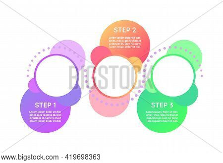Creativity Process Vector Infographic Template. Innovative Project Presentation Design Elements With