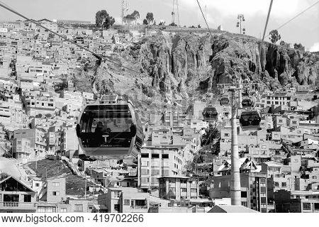 Mi Teleferico, The Aerial Cable Car Urban Transit System Serving La Paz-el Alto Metropolitan Area Wi