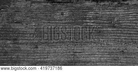 Black Wood Texture Background. Abstract Dark Wood Texture Black Wall. Aged Wood Plank Texture Patter