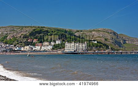 Hotels and guest houses on Great Orme Llandudno WalesUK poster