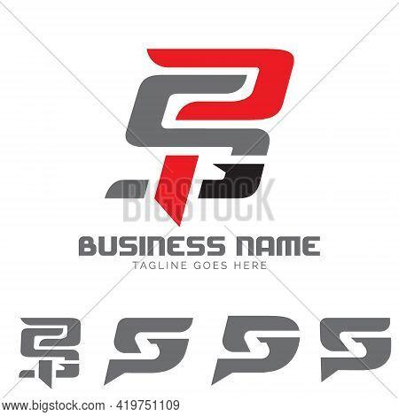 Psg Letter Based Monogram Symbol Concepts Vector Set