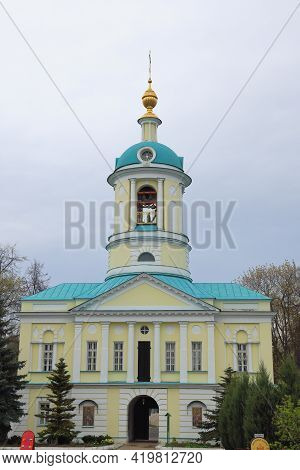 Gate Church Of Demetrius Of Rostov In The Catherine Monastery, Moscow Region, May, 2021