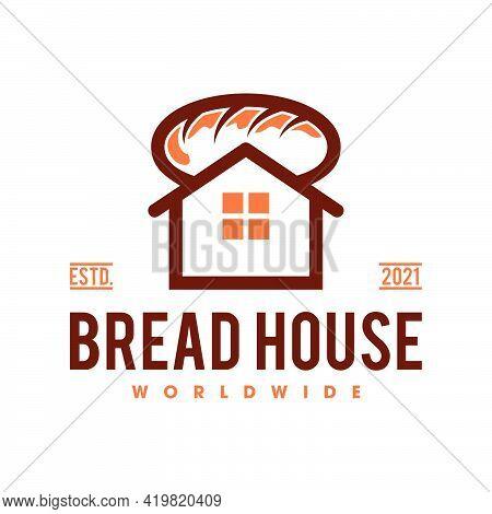 Bakery Bread Logo Template, Bread Shop Logo Template