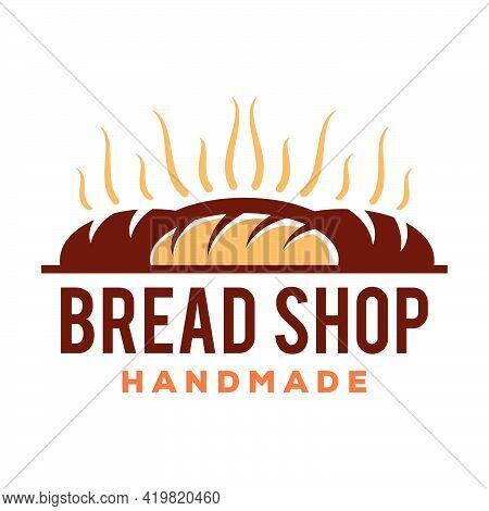 Bread Logo Vector Icon Illustration