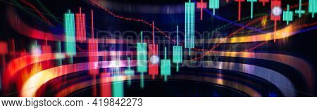 Money Management And Financial Chart.double Exposure Investment . The Business Plan At The Meeting A