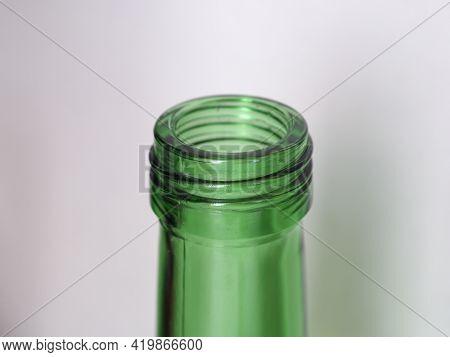 Open Green Bottle