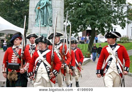 Democracy 250 Year Halifax Reenactment