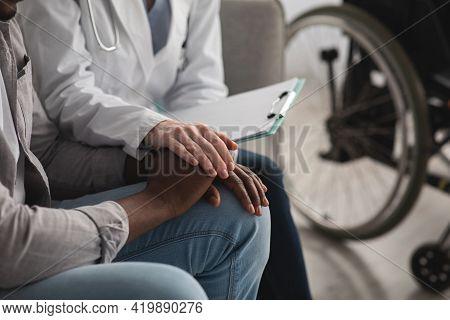 Bad News, Health Problems, Trauma, Rehab With Nurse At Home