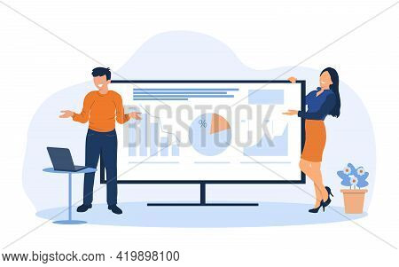Business People Man Woman Meeting Seminar Training Conference Businesspeople Group Brainstorming Pre