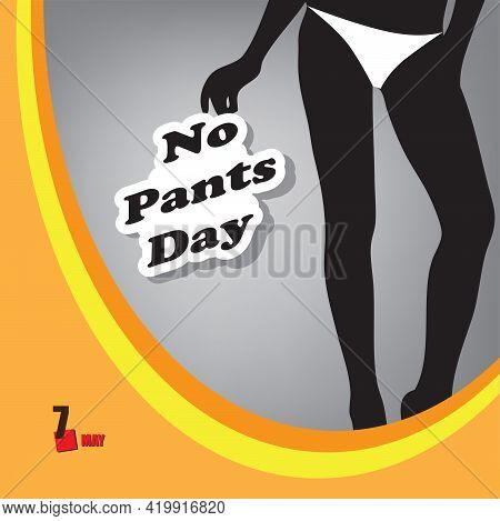 A Festive Event Celebrated In May - No Pants Day