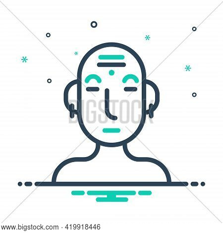 Mix Icon For Culture Civilization Traditional Conventional Custom Consuetude