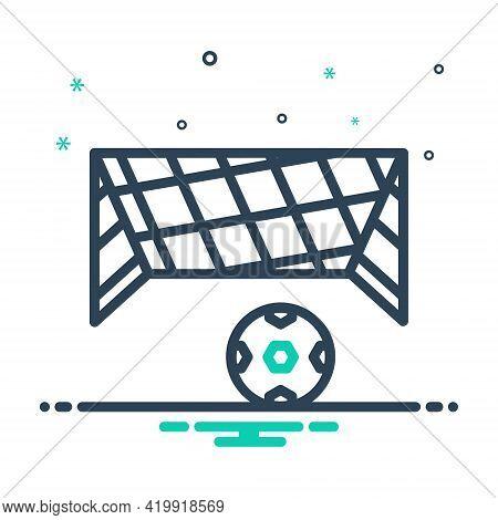 Mix Icon For Net Mesh Snare Toils Netting Ball Soccer-ball