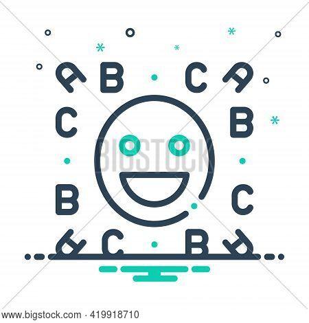 Mix Icon For Idiom Emoji  Expression  Language  Locution  Phrase  Smile