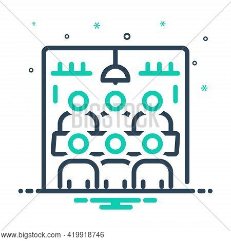 Mix Icon For Meeting-room Meeting Room Hall  Conference  Executive Pedestal