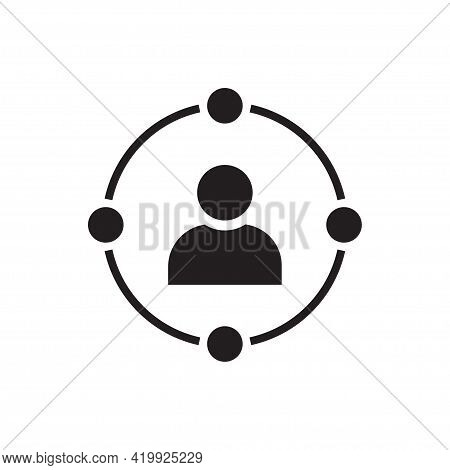 Ambient User Experience Vector Icon For Graphic Design, Logo, Web Site, Social Media, Mobile App, Ui