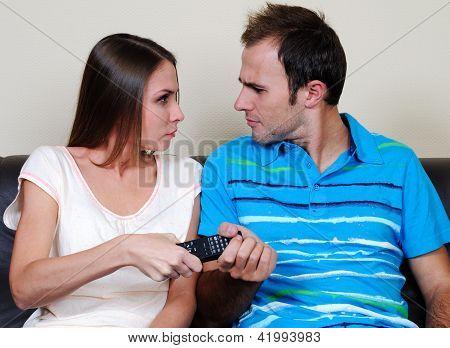 TV pilot quarrel
