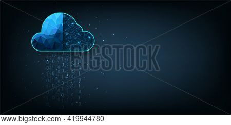 Cloud Technology.cloud Storage With Data Protected Exchange  Cloud Computing, Big Data Center, On Da