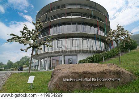JENA, GERMANY - MAY, 29, 2016: Max Planck Institute for Biogeochemistry