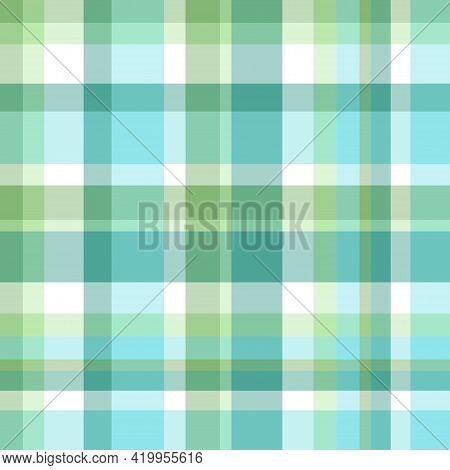 Seamless Multicolored Pattern. Checkered Texture. Abstract Geometric Texture For Design. Print For S