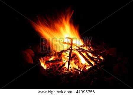 Camp Fire Background