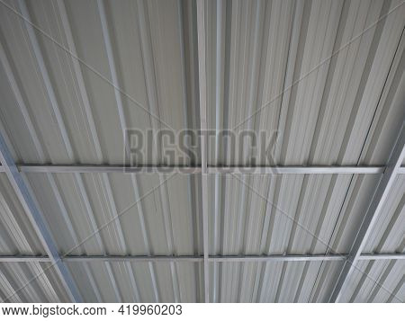 Steel Roof Structure That Has Been Completely Galvanized