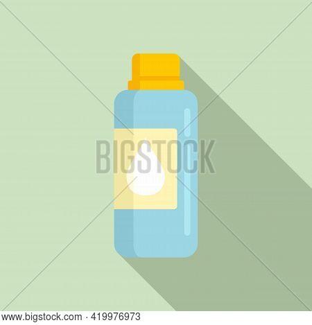 Bio Fertilizer Icon. Flat Illustration Of Bio Fertilizer Vector Icon For Web Design
