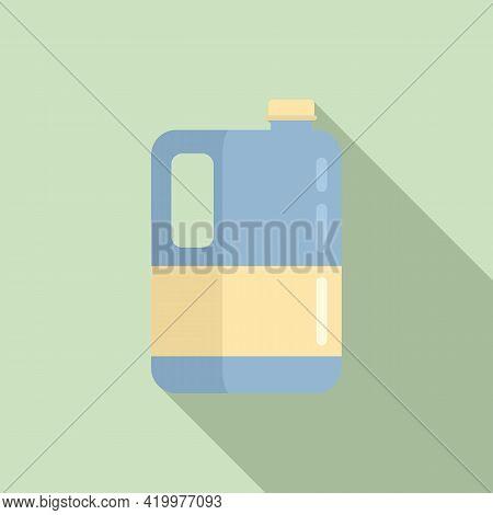 Fertilizer Canister Icon. Flat Illustration Of Fertilizer Canister Vector Icon For Web Design