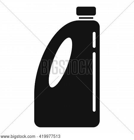 Organic Liquid Fertilizer Icon. Simple Illustration Of Organic Liquid Fertilizer Vector Icon For Web