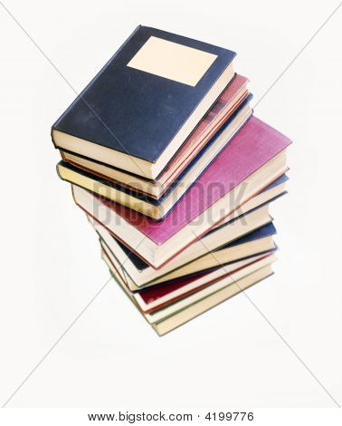 Stack Of Books Piled High