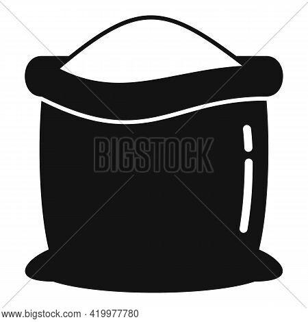 Farm Sack Compost Icon. Simple Illustration Of Farm Sack Compost Vector Icon For Web Design Isolated