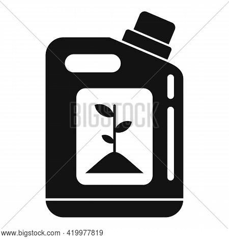 Plant Bio Canister Icon. Simple Illustration Of Plant Bio Canister Vector Icon For Web Design Isolat