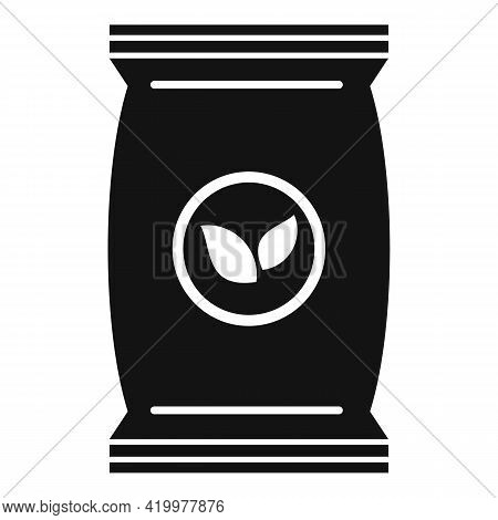 Plant Soil Pack Icon. Simple Illustration Of Plant Soil Pack Vector Icon For Web Design Isolated On