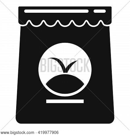 Fertilizer Bag Icon. Simple Illustration Of Fertilizer Bag Vector Icon For Web Design Isolated On Wh