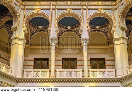 Sarajevo, Bosnia, August 17, -  Bosnia And Herzegovina, 2014: City Library In Sarajevo - Bosnia And
