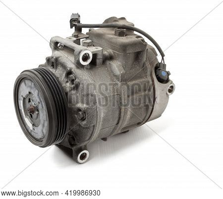 Car Spare Part Air Conditioning Compressor - Pump For Supplying Freon Under Pressure To The Climate