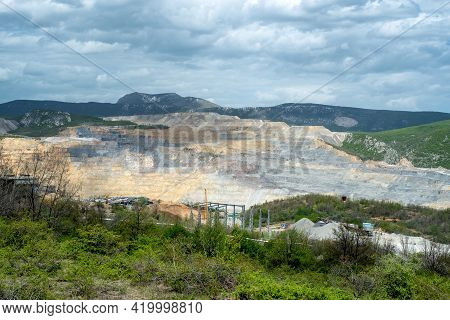 Veliki Krivelj Mine Of Zijin Bor Copper, One Of The Largest Copper Reserves In The World, Owned By T