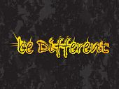 be different vector background with special grunge design poster