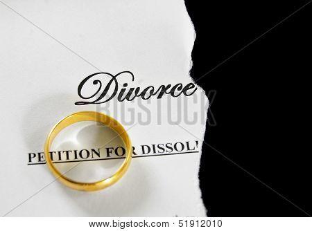 Divorce Paper Split