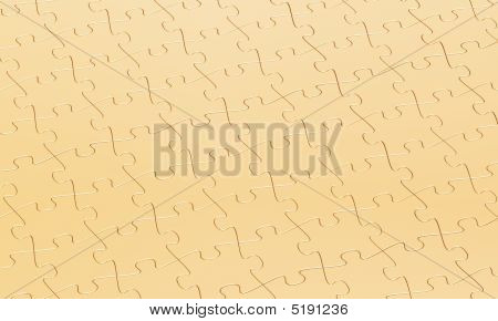 Gold Puzzle Background
