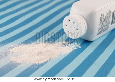 Spilled Baby Powder