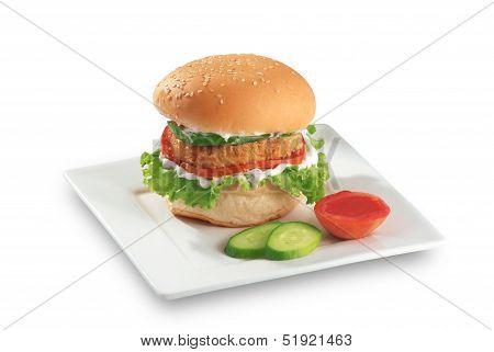Zinger Chicken Burger